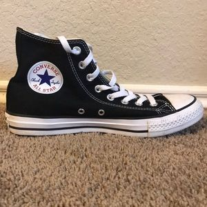 Black High Top Converse All Star Sneakers